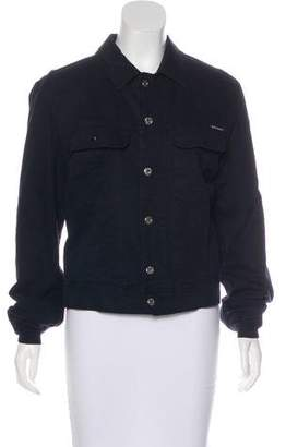 Dolce & Gabbana Denim Button-Up Jacket