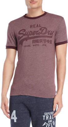 Superdry Vintage Logo Ringer Tee