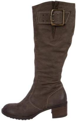 Paul Green Suede Knee-High Boots