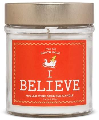 Lidded Jar Candle Mulled Wine 7.4oz