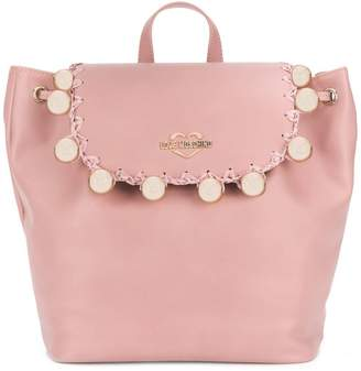 Love Moschino ball studded backpack