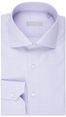 89f41434848 Stefano Ricci Grid-Check Dress Shirt