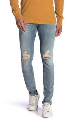 Rag & Bone Distressed Slim Leg Jeans