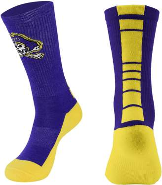 Women's Mojo East Carolina Pirates Champ 1/2-Cushion Performance Crew Socks
