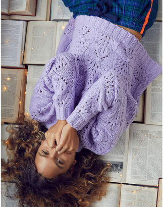 aerie Pointelle Sweater