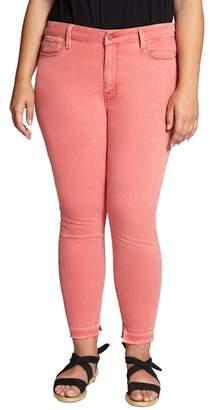Sanctuary Saige Release Hem Curvy Fit Skinny Jeans (Plus Size)
