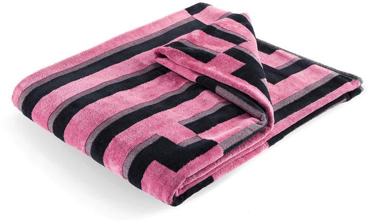 Zuzunaga - Pink Waves Strandtuch, 100 × 180 cm
