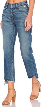 GRLFRND Helena Straight Leg Jean