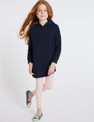 Marks and Spencer Longline Hooded Sweatshirt (3-16 Years)