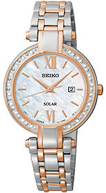 Seiko Women's Diamond Accent Stainless Two-toneWatch $495 thestylecure.com