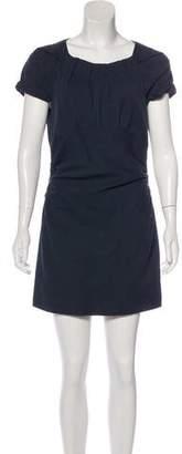 Isabel Marant Linen-Blend Mini Dress