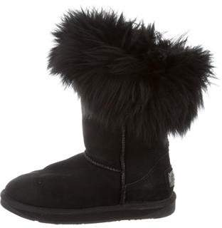 Australia Luxe Collective Shearling-Lined Mid-Calf Boots