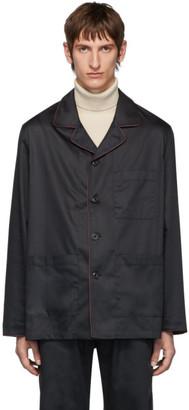Lemaire Navy Sunspel Edition Light Jacket