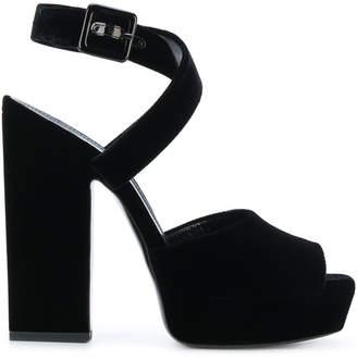 Saint Laurent Debbie platform sandals