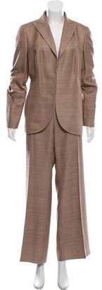Akris Silk Woven Pantsuit
