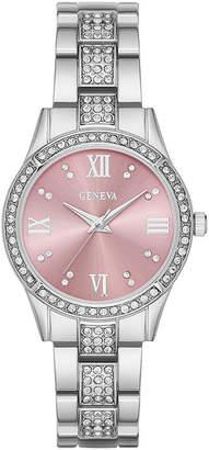 GENEVA Geneva Womens Pink Dial Watch