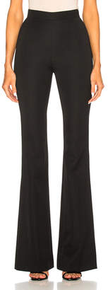 Pierre Balmain High Waisted Flare Trouser Pants