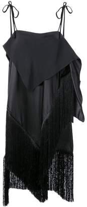 Marques Almeida Marques'almeida long fringed tunic