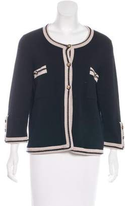 Chanel Cashmere Knit Cardigan