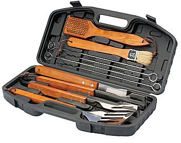 Smart Gear 10-pc. Barbeque & Grilling Tool Set