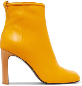 Rag & Bone Ellis Leather Ankle Boots - Yellow