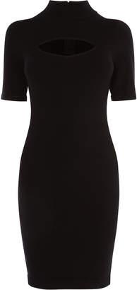 Karen Millen High Neck Bodycon Dress