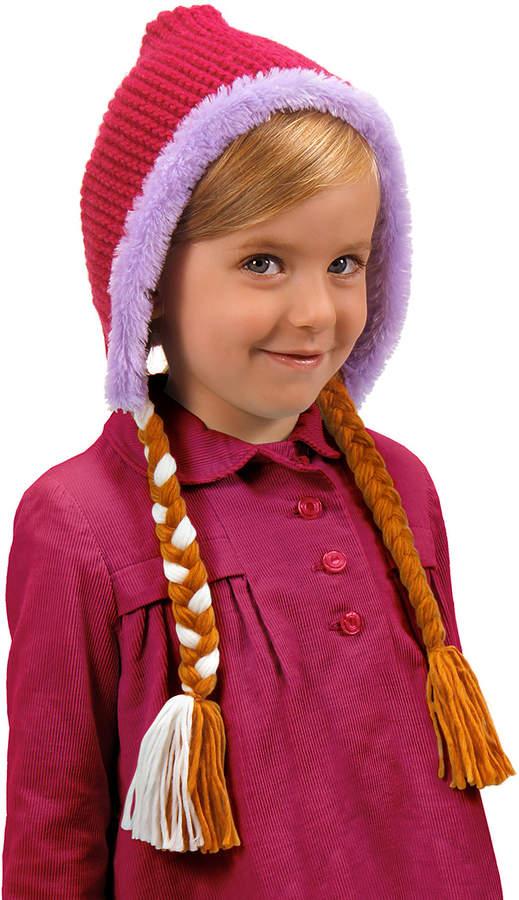 Frozen Anna Braid Earflap Beanie