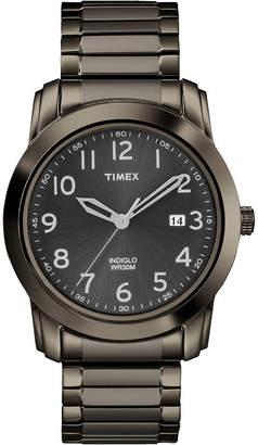 Timex Mens Gunmetal Round Watch