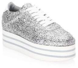 Chiara Ferragni Glitter Platform Sneaker