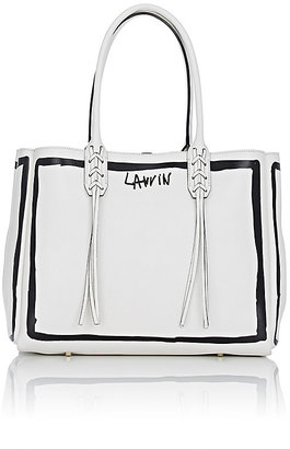 Lanvin Women's Tassel-Handle Small Shopper $1,850 thestylecure.com