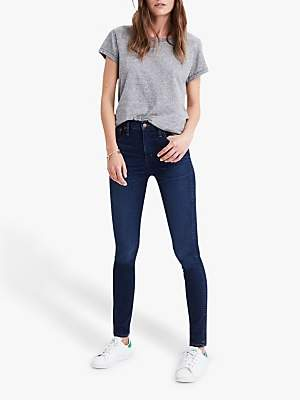 Madewell 10 High-Rise Skinny Jeans, Hayes Wash