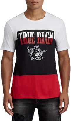 True Religion TRUE PANEL CREW NECK TEE