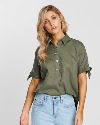 Atmos & Here Penelope Linen Shirt