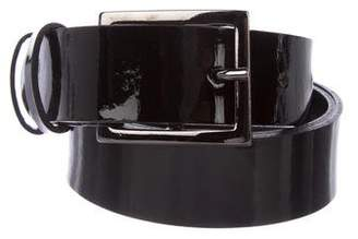 The Kooples Patent Leather Belt