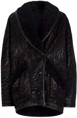 Isabel Marant Audrina Oversized Shearling Jacket