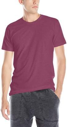 American Apparel Men's Blend Short Sleeve Track Shirt