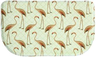 "Bacova Floridian Flamingo Memory Foam Kitchen Rug - 18"" x 30"""