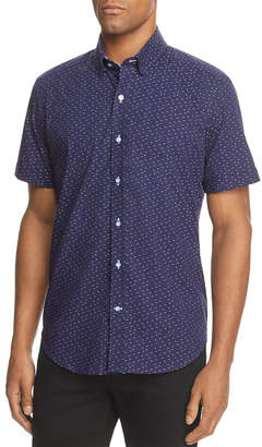 Robert Graham Tobias Tailored Fit S/S Woven Shirt