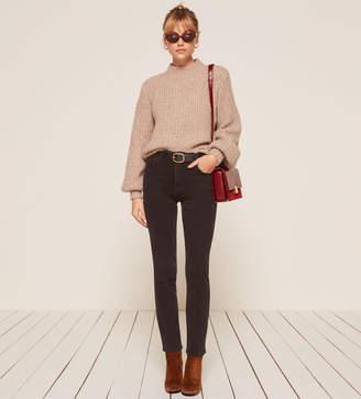 Reformation Petites Hepburn High Skinny Jean
