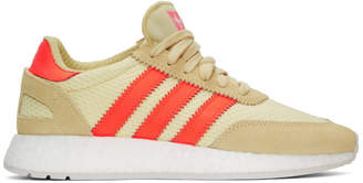 adidas Yellow and Red I-5923 Boost Sneakers