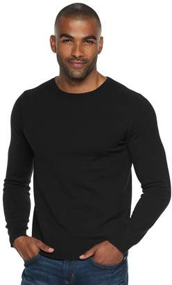 Marc Anthony Men's Slim-Fit Tuck-Stitch Crewneck Sweater