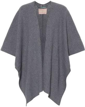81 Hours 81hours Xavia wool-blend cape