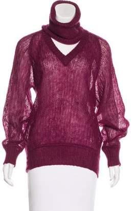 Missoni Open Knit V-Neck Sweater