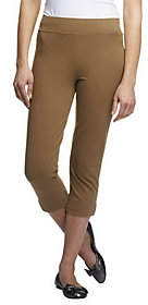 Women with Control Contour Waist Pull-on CapriPants