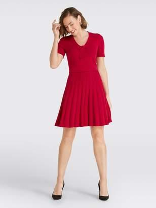 Draper James Bow Knit Dress