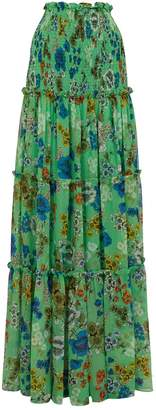 Alexis Roshan Floral Maxi Skirt