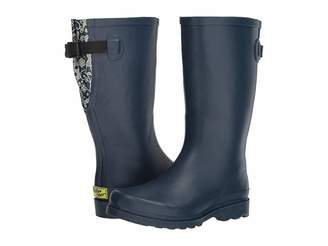 Western Chief Lacey Floral Wide Calf Women's Rain Boots