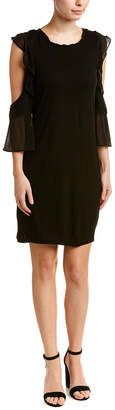 French Connection Ruffled Shift Dress