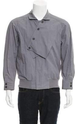 Karl Lagerfeld by Asymmetrical Bomber Jacket