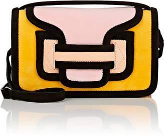 Women's Alpha Suede Crossbody Bag